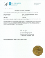 FDA License for Medical Diagnostic